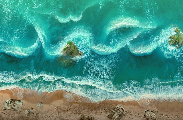 دیوارنگاره | دریا مبرّا از پلیدیست