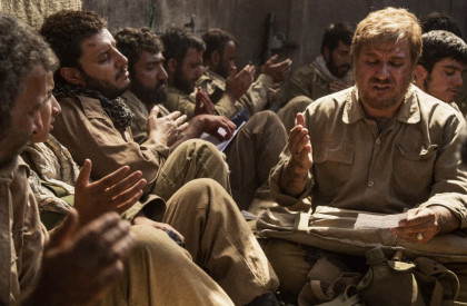 نوحه خوانی مرحوم «علی سلیمانی» در فیلم سینمایی تنگه ابوقریب